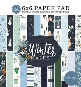 Bilde av Carta Bella - Winter Market - 6x6 Paper Pad