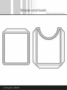 Bilde av Simple and basic - Dies - SBD044 - Pocket & Flap - Add on