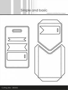 Bilde av Simple and basic - Dies - SBD055 - Tag with Pocket