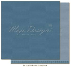 Bilde av Maja - 1011 - Monochromes - Shades of Christmas - December Teal