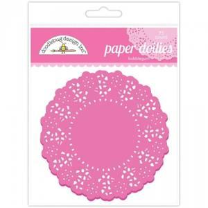 Bilde av Doodlebug Design - 4452 - Paper Doilies - Bubblegum - 75 stk