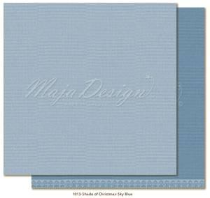 Bilde av Maja - 1012 - Monochromes - Shades of Christmas - Sky blue