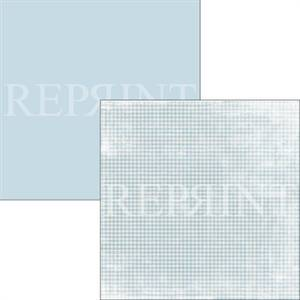 Bilde av Reprint - 12x12 - RP0312 - Swedish Fika - Blue Checkered