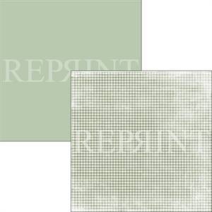 Bilde av Reprint - 12x12 - RP0314 - Swedish Fika - Green Checkered