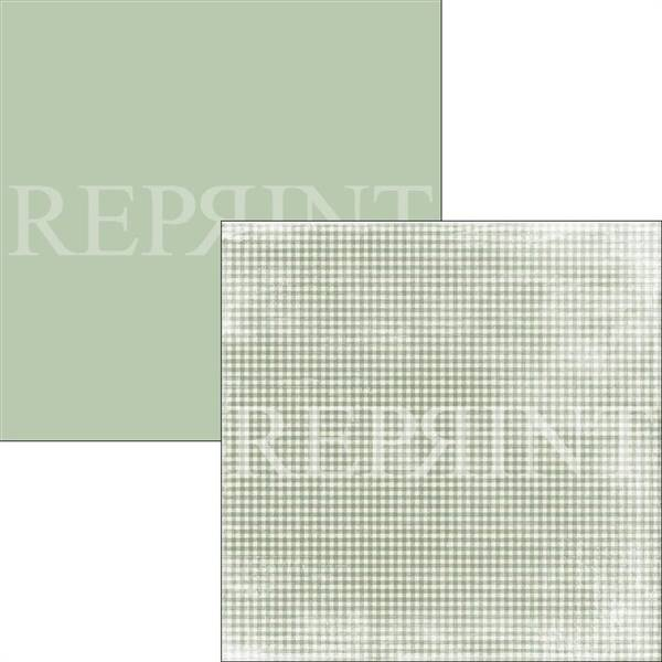 Reprint - 12x12 - RP0314 - Swedish Fika - Green Checkered
