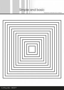 Bilde av Simple and basic - Dies - SBD077 - Squares