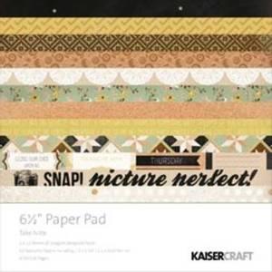 Bilde av Kaisercraft - PP870 - 6,5x6,5 - PAPER PAD - TAKE NOTE