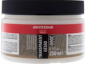 Bilde av Amsterdam - 3000 - Gesso - Transparent - 250ml