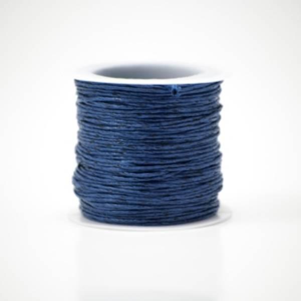 Kort & Godt - TR115 - Bomullstråd - 20m - Mørk blå