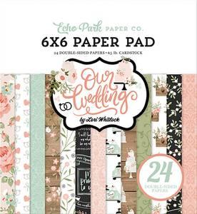 Bilde av Echo Park - Our Wedding - 6x6 Paper Pad