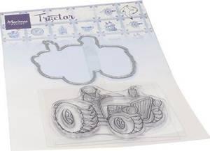 Bilde av Marianne Design Stamps - HT1654 - Hetty's Tractor - inkl die