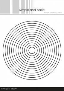 Bilde av Simple and basic - Dies - SBD079 - Circles