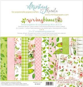Bilde av Mintay - SPR - 12x12 Paper Set - Springtime