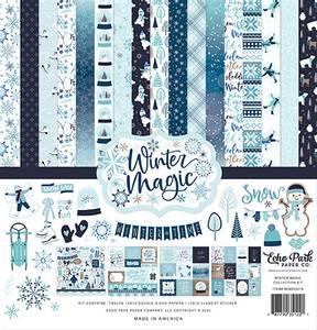 Bilde av Echo Park - Winter Magic - 12x12 Collection Kit