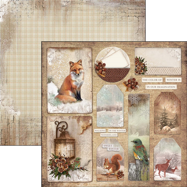 Ciao Bella - 12x12 - CBSS058 - Sound of Winter - Cards & Tags