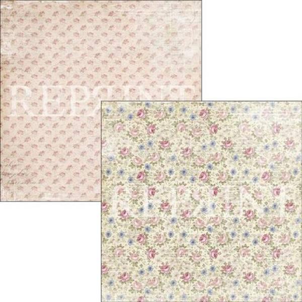 Reprint - 12x12 - RP0318 - Music & Roses - Summer Tiny