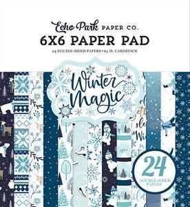 Bilde av Echo Park - 6x6 Paper Pad - Winter Magic