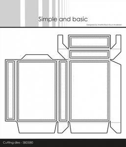 Bilde av Simple and basic - Dies - SBD080 - Box-1