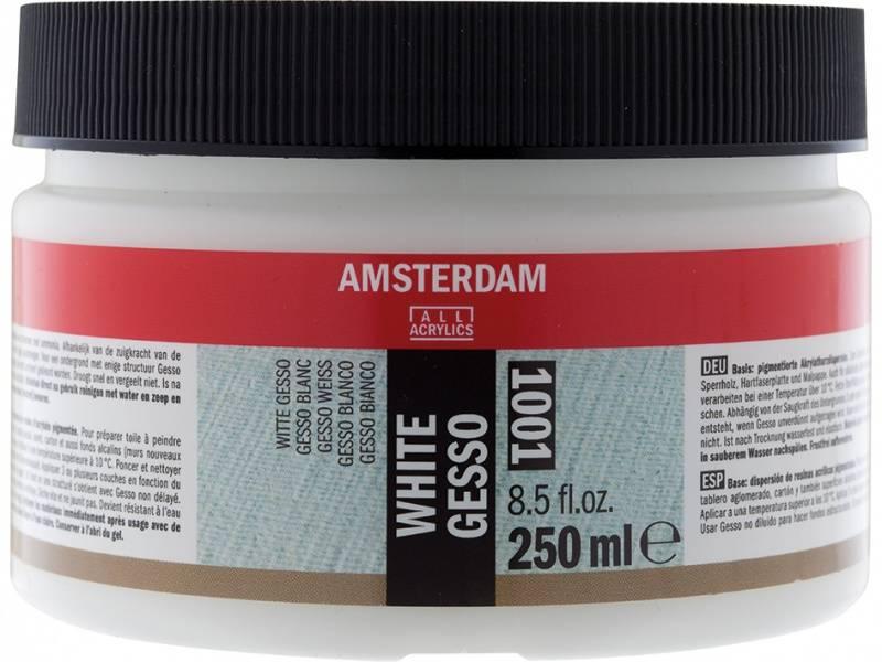 Amsterdam - 1001 - Gesso - White - 250ml