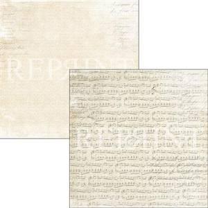Bilde av Reprint - 12x12 - RP0323 - Music & Roses - Music Sheet
