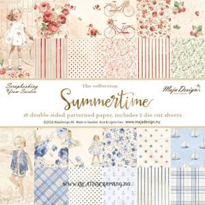 Bilde av Maja Design -  860 - Paper pad 6x6 - Summertime