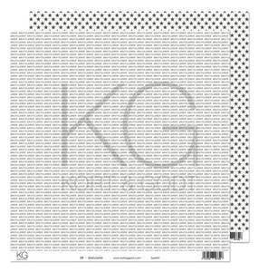 Bilde av Kort & Godt - Mønsterpapir 108103 - BW - Gratulerer