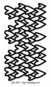 Bilde av Kort & Godt - Die 249 - Hjertebakgrunn