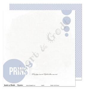 Bilde av Kort & Godt - Mønsterpapir 107870 - BABY GUTT 1 - 4152