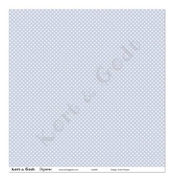 Kort & Godt - Mønsterpapir 107870 - BABY GUTT 1 - 4152
