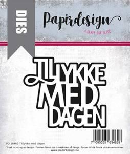 Bilde av Papirdesign Dies PD18462 - Til lykke med dagen