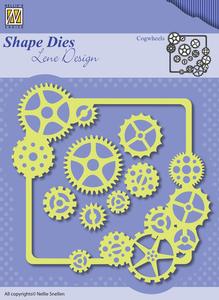 Bilde av Nellie Snellen - SDL038 - Shape Dies Lene Design - Cogwheels