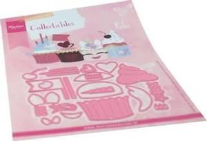 Bilde av Marianne Design - Collectable dies - COL1481 - Cupcakes