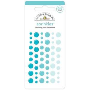 Bilde av Doodlebug - 4010 - Sprinkles - Glossy dots - Swimming Pool