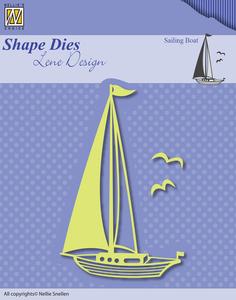 Bilde av Nellie Snellen - SDL039 - Shape Dies Lene Design - Sailing Boat