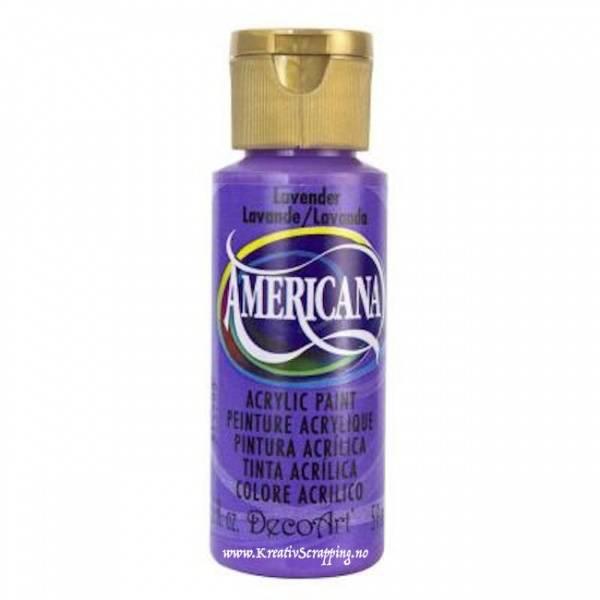 Americana Acrylic Paint - Lavender - Opaque
