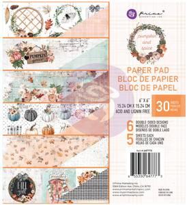 Bilde av Prima - 647773 - 6x6 Paper Pad - Pumpkin & Spice