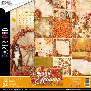 Bilde av Ciao Bella - 023 - 12x12 Paper Pad - Sound of Autumn - 12pk