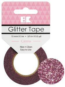 Bilde av BC - Glitter Tape - 15mm x 5m - 009 - Canna