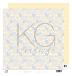 Bilde av Kort & Godt - Mønsterpapir 108098 - Vårstemning - Gult er kult