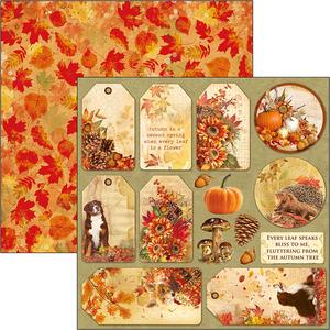 Bilde av Ciao Bella - 12x12 - CBSS080 - Sound of Autumn - Autumn Tags