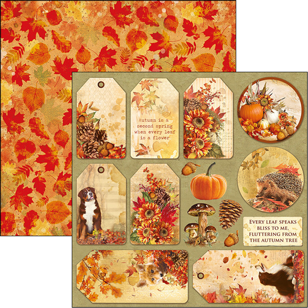 Ciao Bella - 12x12 - CBSS080 - Sound of Autumn - Autumn Tags