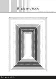Bilde av Simple and basic - Dies - SBD118 - Frames - Rectangle