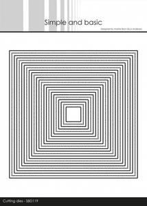 Bilde av Simple and basic - Dies - SBD119 - Frames - Square