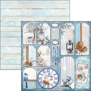 Bilde av Ciao Bella - 12x12 - CBSS084 - Time for Home - Winter Tags