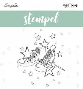 Bilde av Storyteller - Stempel - 011066  - Sko og stjerner