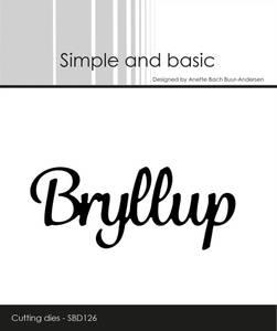 Bilde av Simple and basic - Dies - SBD126 - Bryllup