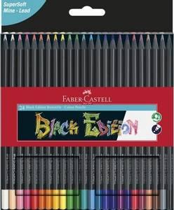Bilde av Faber Castell - Black Edition Colour Pencils - 24 stk