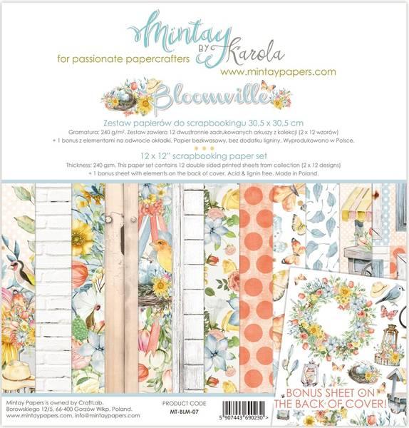 Mintay - BLM - 12x12 Paper Set - Bloomville