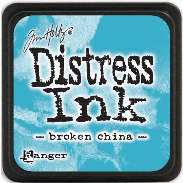 Distress - Mini Ink Pad - BROKEN CHINA