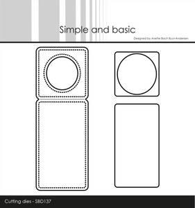 Bilde av Simple and basic - Dies - SBD137 - Mini Piecerd Bottle Label